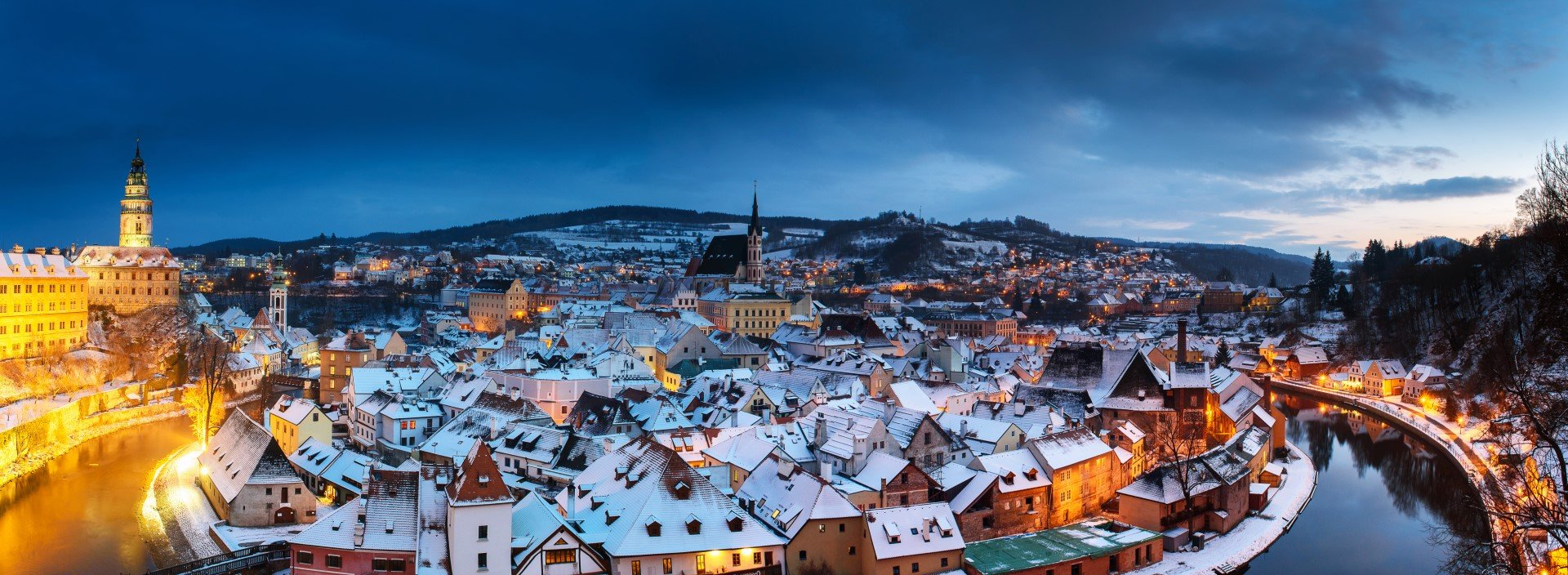 Take a time travel adventure back to the Middle Ages and visit Český Krumlov on a full-day private group tour.